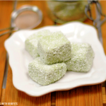 Matcha Coconut Fudge